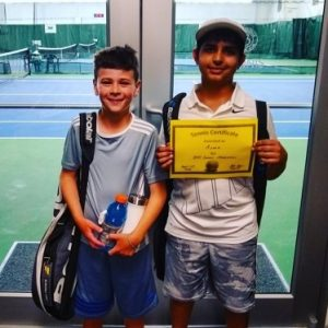 Junior Tennis Program at Kitsap Tennis and Athletic Center in Bremerton, WA. USTA Net Generation Provider.
