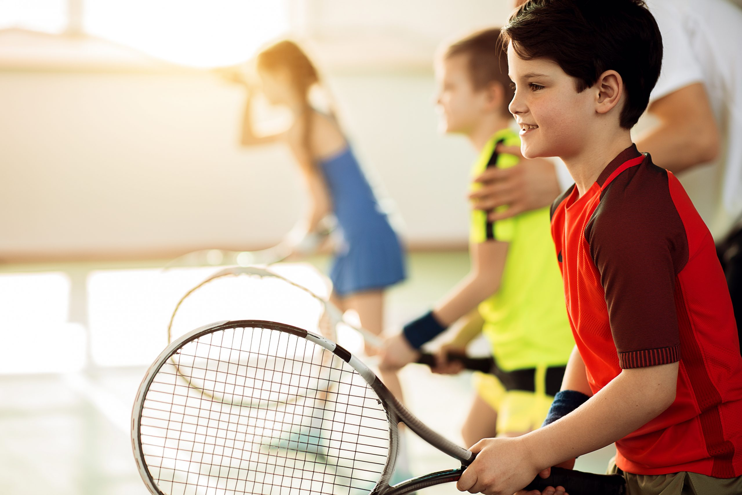 Junior Tennis Classes and Tennis Lessons with Ben at KTAC