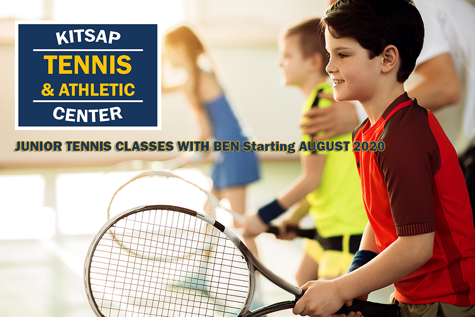 Junior Tennis Classes and Tennis Lessons with Ben