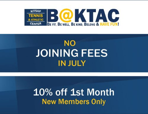 No Joining Fees in July