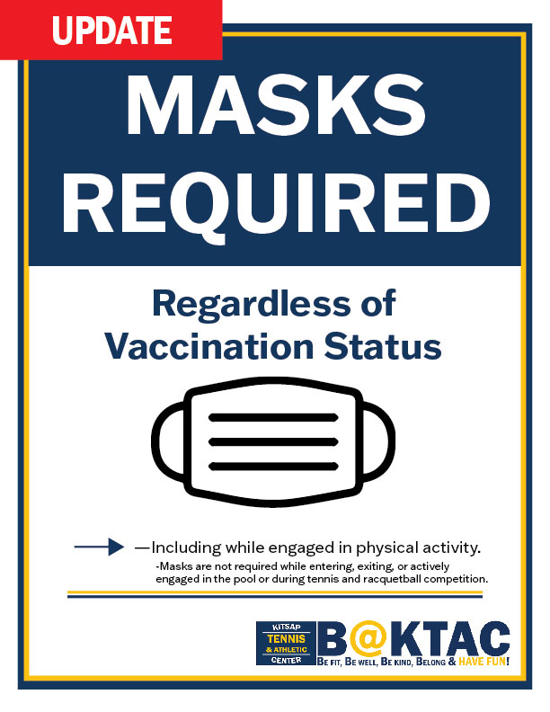 Masks Required 8-23-21