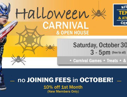 Halloween Carnival & Open House